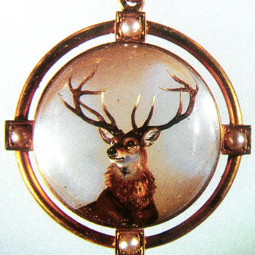 B-0694 Essex Crystal brooch