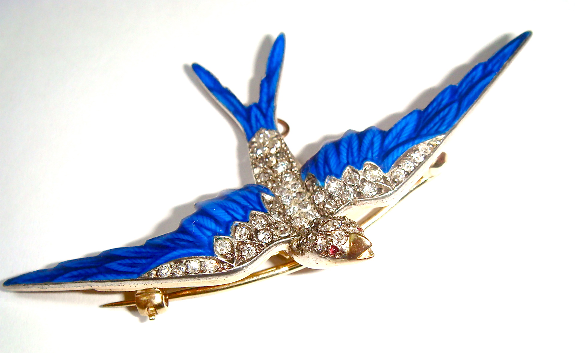 B-0102  Bird brooch