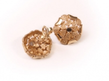 CJ-0106  BROOCH &  EARRINGS-  REDUCED PRICE €. 350