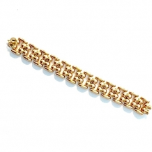 A-0230  Yellow gold bracelet