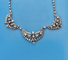 C-0120, Diamond necklace